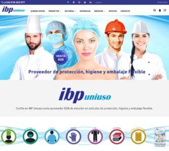 Nueva web de IBP Uniuso